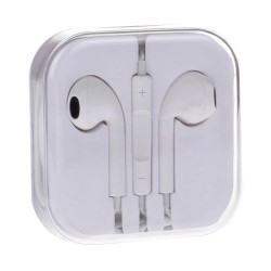 Earphones voor iPhone 4/4S/5 Wit