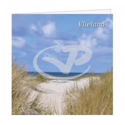 Wenskaart Vlieland Duin Doorkijkje