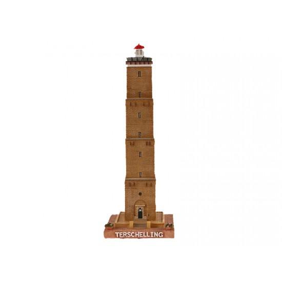Vuurtoren Terschelling 25cm. met verlichting