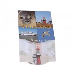 Memo blokje 3D Vlieland