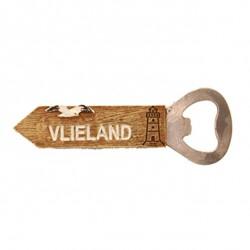 Strandpaal Opener Vlieland met magneet