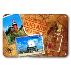 Magneet Doming Vlieland Foto's Met Flesje Met Hartjes