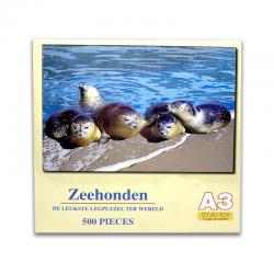 Legpuzzel Zeehonden 500 stukjes