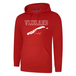 Hooded Sweater Sizzeling Red Vlieland is calling... and i must go!