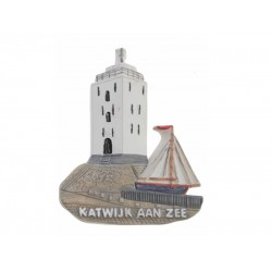 Magneet Vuurtoren van Katwijk aan Zee model 2