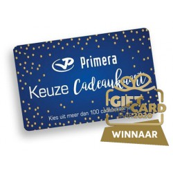 Primera Keuze Cadeaukaart €10 - €150
