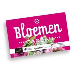 Bloemen Cadeaukaart €10 - €150