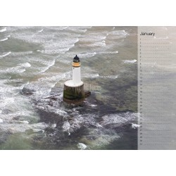 Lighthouse Birthday Calendar Flying Focus